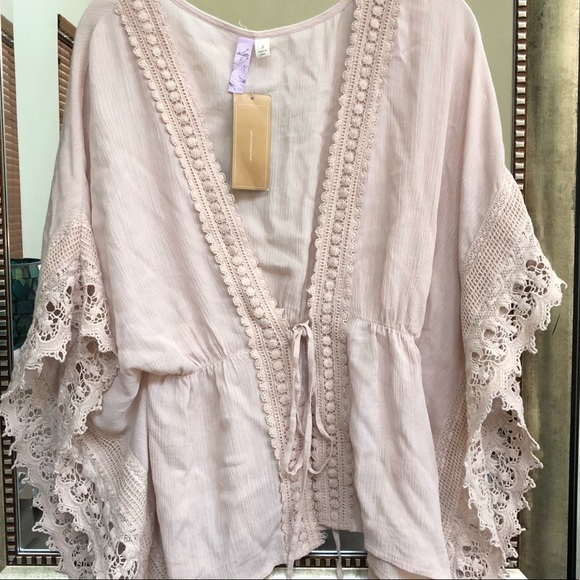 49a920f2e1 Alya Tops | Cream Crochet Boho Top Swim Cover Up | Poshmark